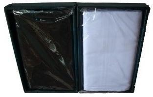 sarung atlas hitam polos